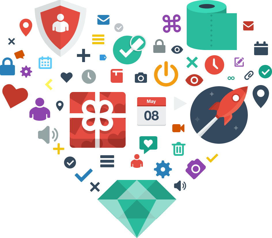 Top 5 Free Flat Icon Sets Crunchify