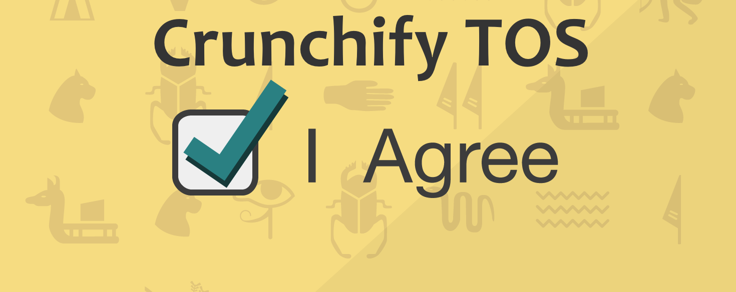 Crunchify Terms of Service - TOS