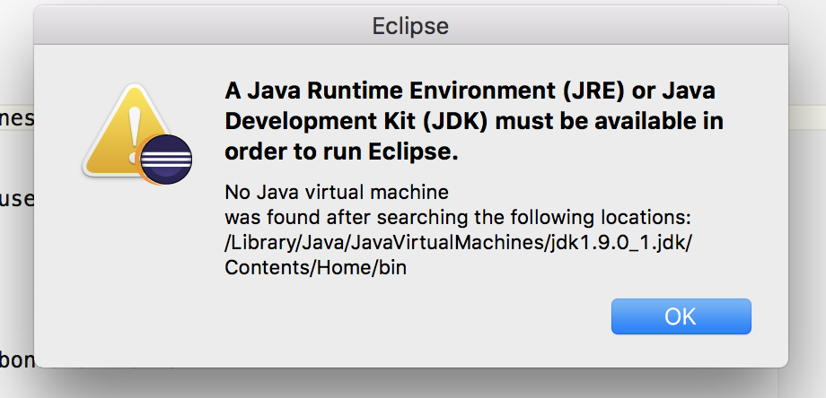 How to Fix Eclipse Startup Error after Removing old Java Version ...